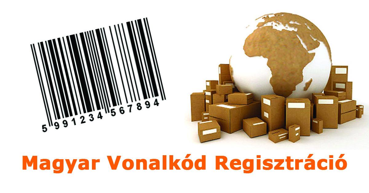 vonalkód regisztráció